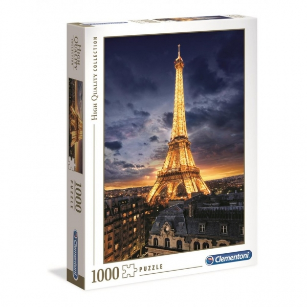 Puzzle 1000: High Quality Collection - Wieża Eiffela (39514)