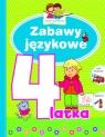 Zabawy językowe 4-latka. Mali geniusze Elżbieta Lekan