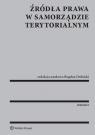 Źródła prawa w samorządzie terytorialnym