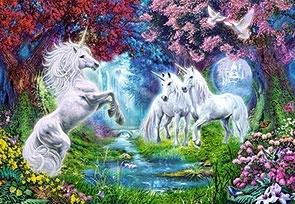 Puzzle 260 Unicorn Rendezvous .