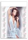 Kalendarz plakatowy Dziewczyna Kolor A1 2018 (GM-917-T11-BIAŁY)