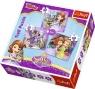 Puzzle 3w1 Zosia i jej przyjaciele (34814)