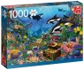 Puzzle 1000 PC Klejnoty na dnie oceanu G3