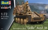 Model plastikowy Pojazd Sturmpanzer 38T Grille aus (03315)