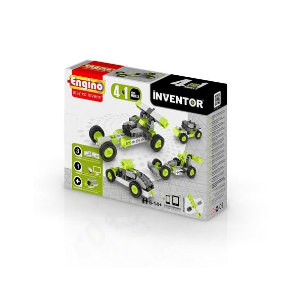 ENGINO Inventor 4 models cars (0431)