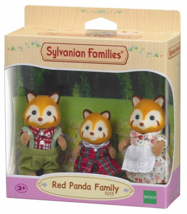 Rodzina rudych pandek (5215)