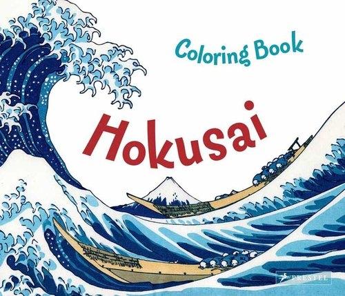 Coloring Book: Hokusai Krause Marie
