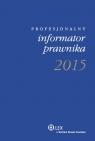 Profesjonalny informator prawnika 2015