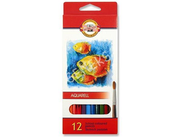 Kredki akwarelowe 3716/K 12 kolorów