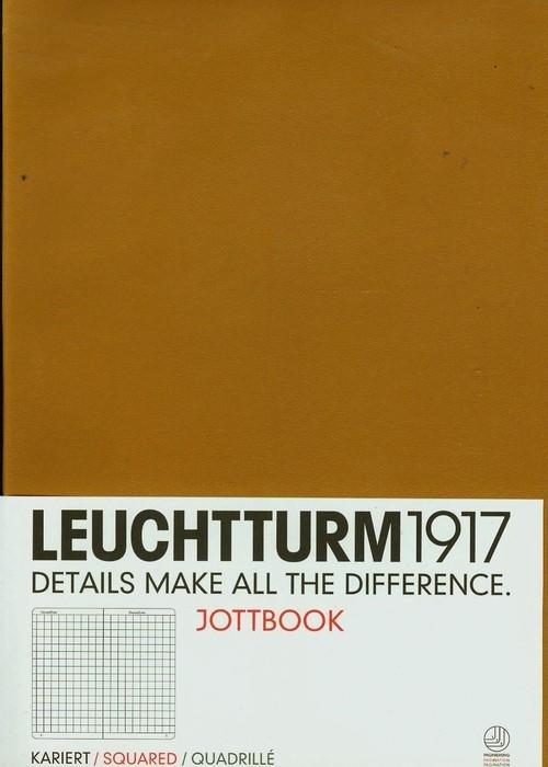 Notatnik A4 Leuchtturm1917 w kratkę karmelowy 339921