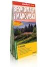 Beskid Mały i Makowski laminowana mapa turystyczna 1:50 000 praca zbiorowa