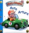 Auto Artura. Mały chłopiec