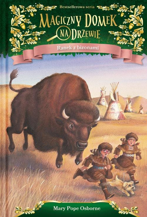 Ranek z bizonami Mary Pope Osborne