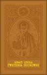 Ćwiczenia duchowne oprawa skórzana Św. Ignacy Loyola