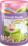 Skarbonka Jednorożec + puzzle 60 elementów