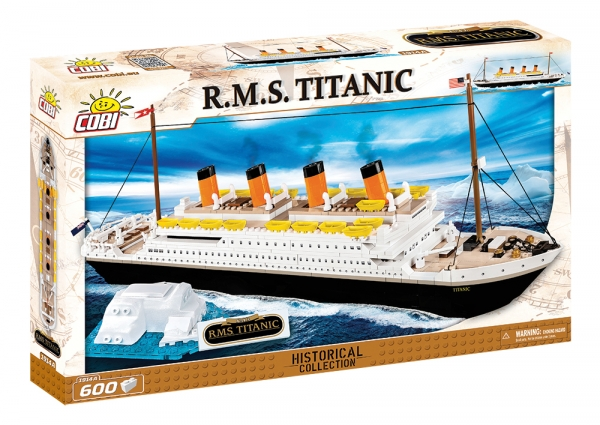 Cobi: Historical Collection - Titanic RMS (1914A) (Zgnieciony kartonik)