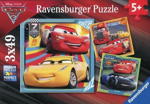 Puzzle 3x49 Auta 3 (080151)