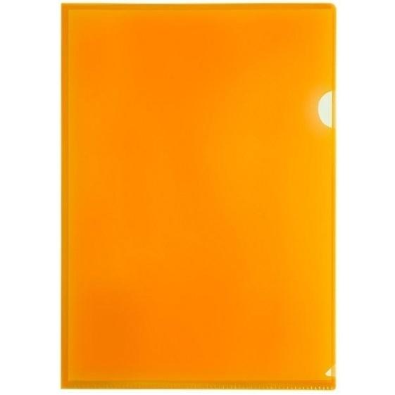 Obwoluta, ofertówka A4 Tetis, 12 szt. - pomarańczowa (BT615-P)