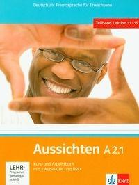 Aussichten A2.1 Kurs- und Arbeitsbuch mit 2 Audio-CDs und DVD Hosni Lourdes Ros-El, Swerlowa Olga, Klotzer Sylvia