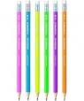 Ołówek Wopex z gumką Neon