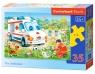 Puzzle Ambulans 35 elementów (035151)