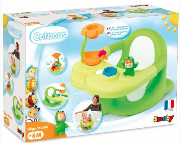 Cotoons: Siedzonko do kąpieli - zielone (7600110615)