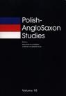 Polish-AngloSaxon Studies 16