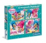 Puzzle Shimmer and Shine 4 w 1 (07715)