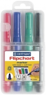 Centropen: Zestaw markerów do papieru Flipchart 8550 4 kolory
