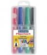 Markery Centropen Flipchart 8550, 4 kolory (0000283) końcówka okrągła
