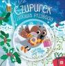 Zimowa przygoda wróbla Czupurka Książka z płytą CD