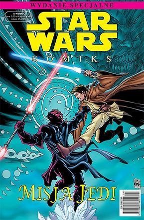 Star Wars komiks. Misja Jedi praca zbiorowa