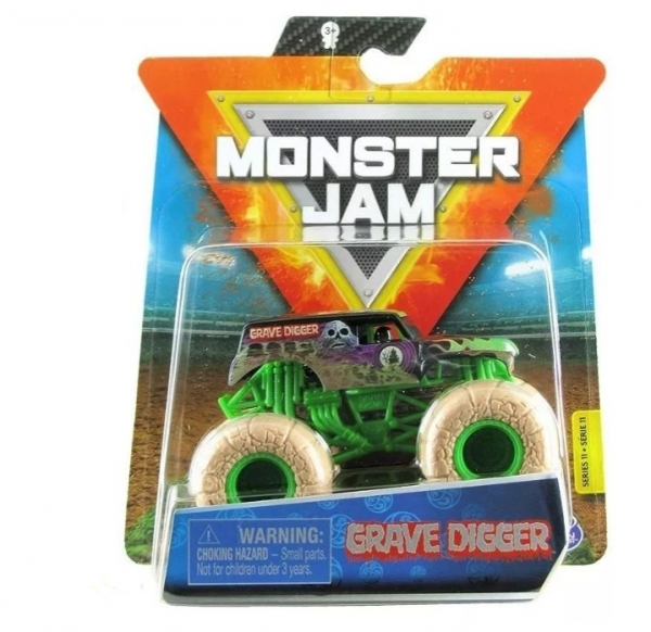 Pojazd MONSTER JAM Auto, Grave Digger (6044941/20123292)
