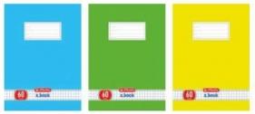 Zeszyt 60 A5 kratka Color Blocking