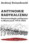 Antynomie radykalizmu Fenomenologia polityczna w Niemczech 1914-1933 Gniazdowski Andrzej
