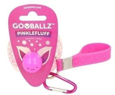 GoGoPo - Gooballz Gniotek-brelok, malina, opalowy