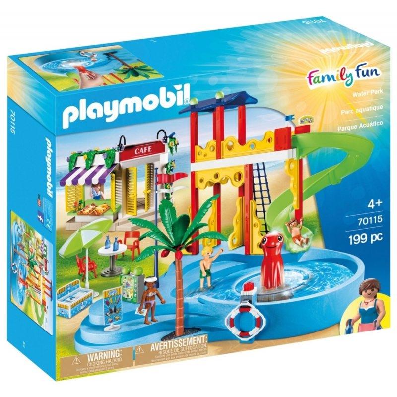 Playmobil Family Fun: Park wodny (70115)