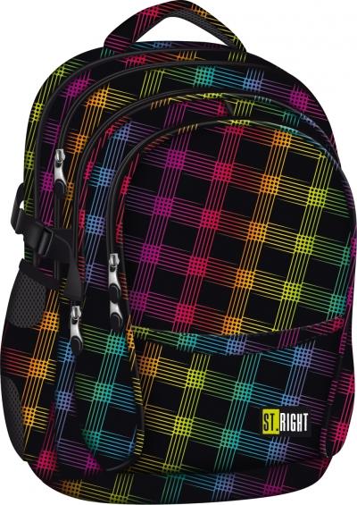 Plecak szkolny Stright Neon Squares BP-01