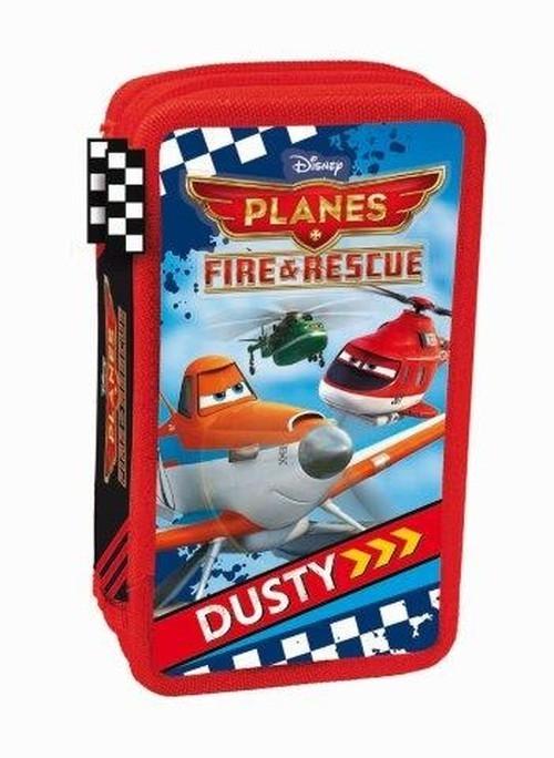 Piórnik podwójny Disney Planes z wyposażeniem