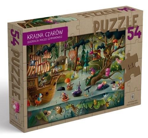 Kraina Czarów. Puzzle 54