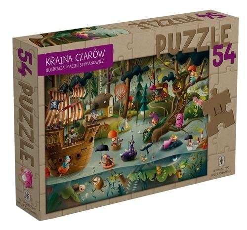Puzzle 54: Kraina Czarów