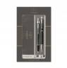 Zestaw Parker: IM Duo Czarny CT, pióro wieczne i długopis (P-2093215)