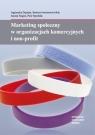 Marketing społeczny w organizacjach komercyjnych i non-profit  Aleksandra Spychała