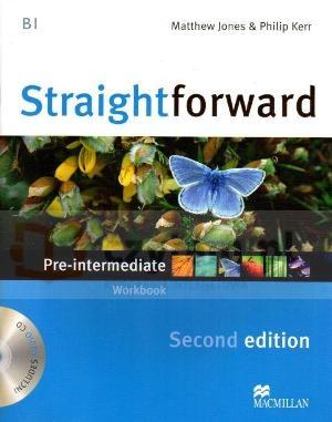 Straightforward 2ed Pre-Inter WB without key +CD Philip Kerr, Lindsay Clandfield, Ceri Jones, Jim Scrivener, Roy Norris