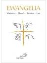 Ewangelie (4 ewangelie) biała z krzyżem .