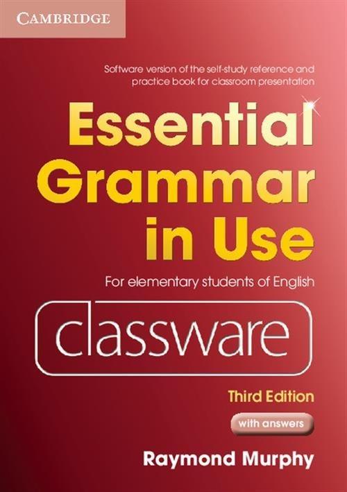 Essential Grammar in Use Elementary Classware Murphy Raymond