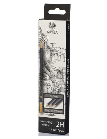 Ołówek do szkicowania 2H Astra Artea  (206118009)