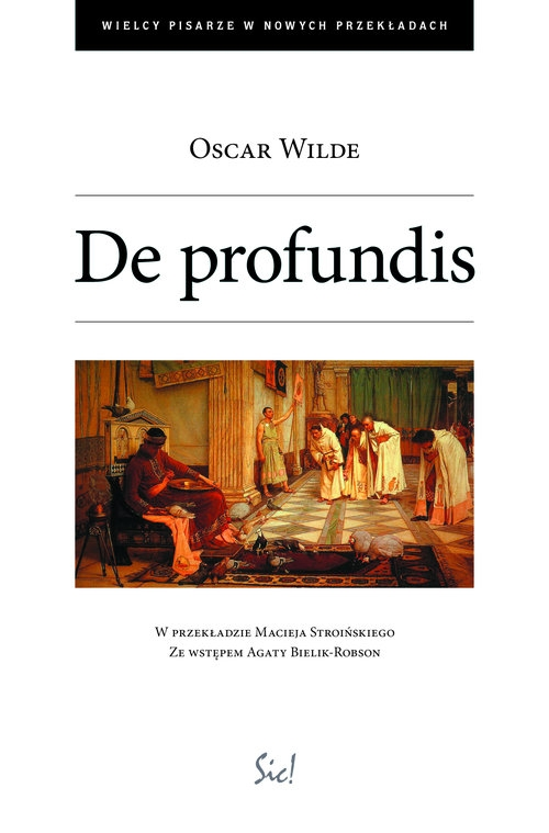 De profundis Wilde Oscar