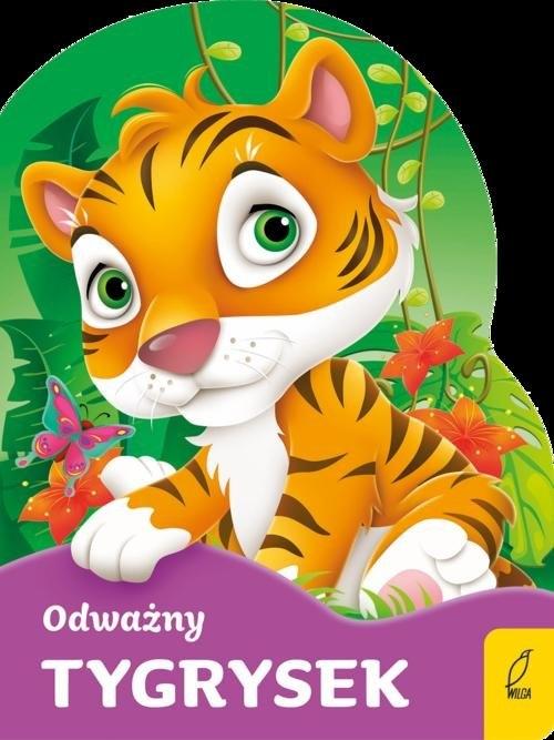 Odważny tygrysek Wykrojnik opracowanie zbiorowe