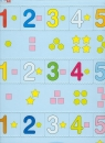 Matematyka Puzzle Cyfry 1-5